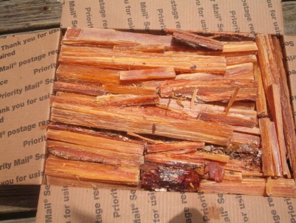 FAT LIGHTER KINDLING FIRE STARTERS FATWOOD RICH FIRE TINDER WOOD 7 lb.+ Mail Wt.