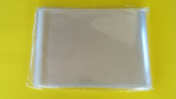 100 Sleeves Magazine Plastic Protectors Resealable Storage Bags 8 3 4quot; x 11 1 4quot; $14.85