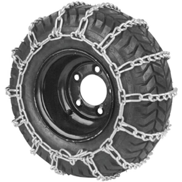 New Stens 180-128 2 Link Tire Chains 20x8-8  20x8-10 Wheel Snow Mud Lawn Mower