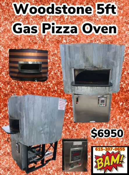 Woodstone Gas Hearth Pizza Oven Model WS-MS-5-GG-NG