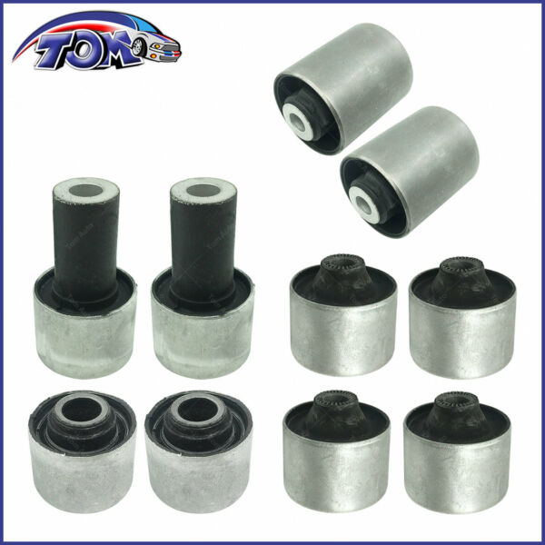 New Control Arm Bushing Upper Lower Front Rear Set Of 10 For Lexus LS460 LS600H