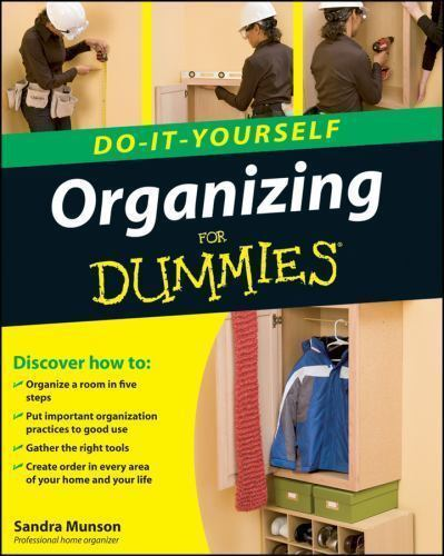 Organizing Do-It-Yourself For Dummies-ExLibrary
