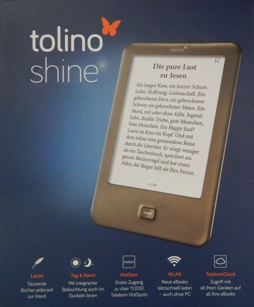 Tolino Shine E-Book-Reader 15,24 cm (6