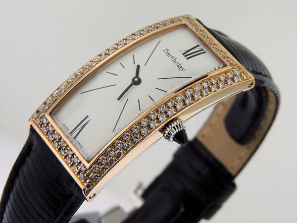 Barthelay Fond Acier Ladybird 55200 18k Rose Gold Diamonds  $13900 LNIB
