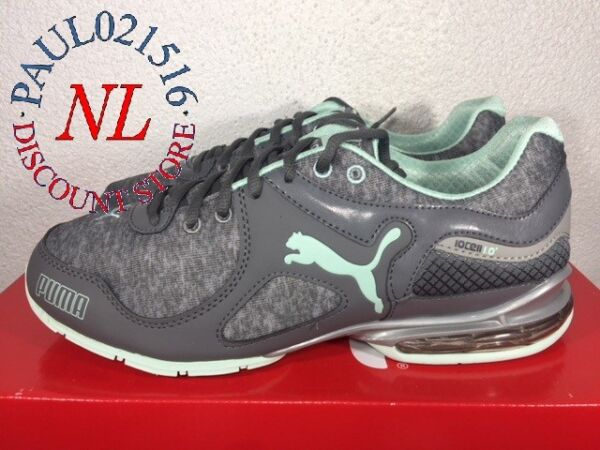 Puma Women's Cell Riaze Athletic Running Lace Up Shoes ~ Gray ~ Various Sizes