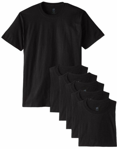 Hanes Men's Tshirts COMFORTSOFT 6-Pack Crew Neck Tees M-4XL