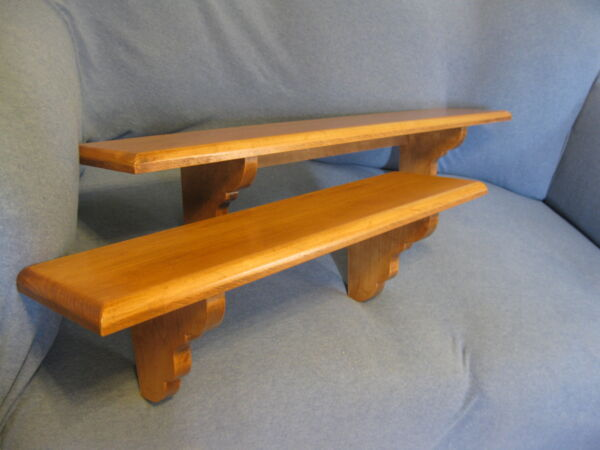 Handcrafted Maple Wall Shelves22