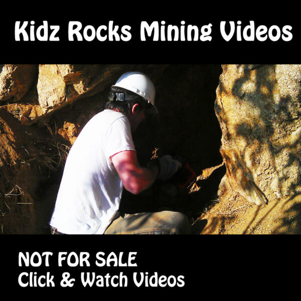 Kidz Rocks Mining Videos - Not For Sale - Watch Videos - Mineral Specimen