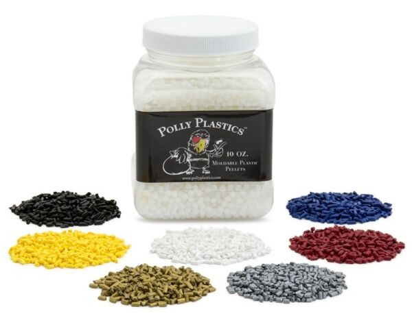 Polly Plastics Moldable Plastic and Color Pellet Kit $21.95