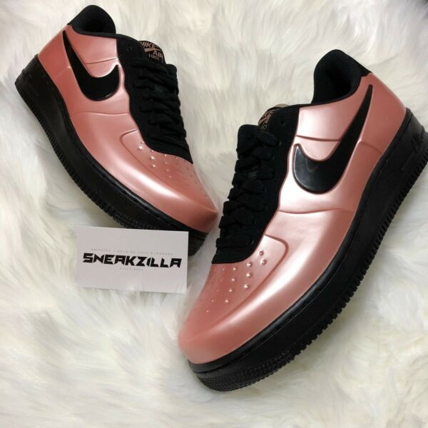 Nike Air Force One 1 Foamposite Cup Sole CORAL STARDUST AF1 AJ3664-600 CUPSOLE