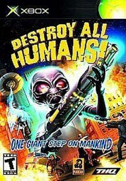 Destroy All Humans!  XBOX BRAND NEW, SEALED PACKAGE
