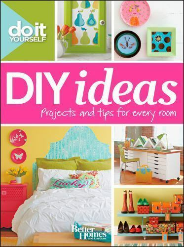 Do It Yourself: DIY Ideas (Better Homes and Gardens) (Better Homes and-ExLibrary