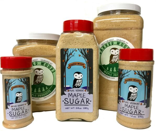 Maple Sugar Made From Pure Vermont Maple Syrup Free Shipping