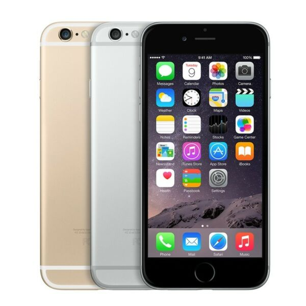 UNLOCKED Apple iPhone 6 64GB 4G LTE GSM Smartphone Dual Core Cell Phone
