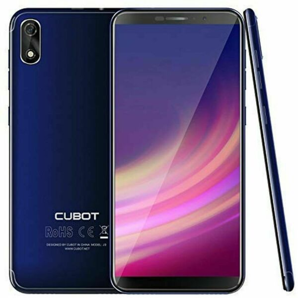 Cubot J3 5,0'' Android Go 3G Smartphone 8MP 1+16GB MT6580 Handy Ohne Vertrag EU