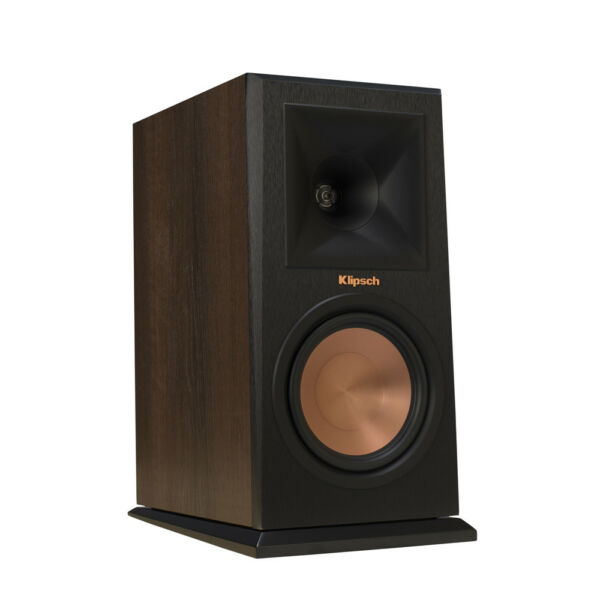 Klipsch RP-160M-WL Walnut Bookshelf Speakers - Pair - OPEN BOX