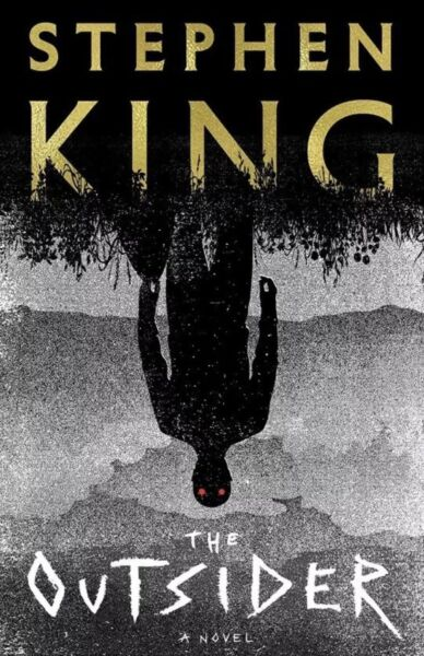 The Outsider Novel By Stephen King-Hardcover-NEW