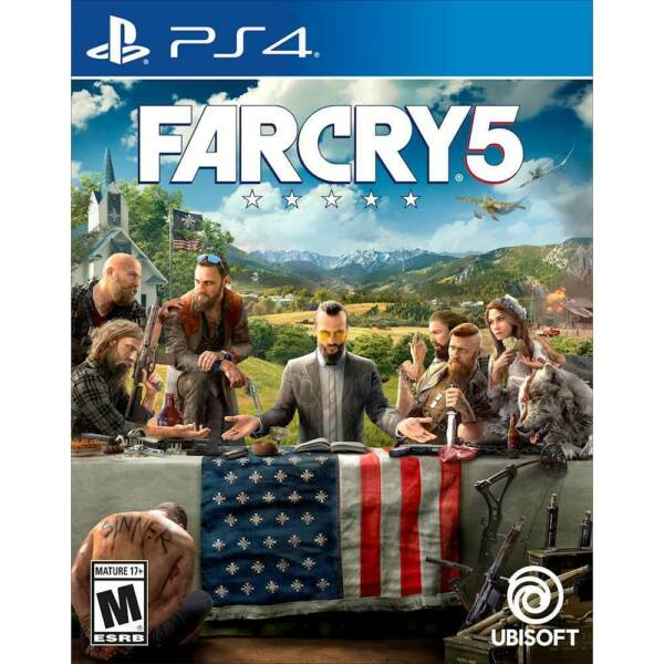 FarCry 5 (PS4 Playstation 4) Far Cry 5- BRAND NEW FACTORY SEALED
