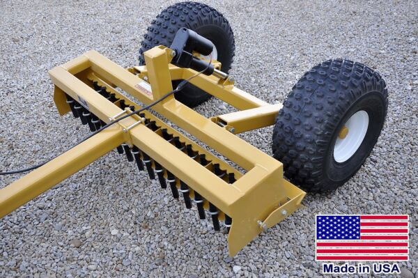 5ft Driveway GRADER - Clevis Hitch Pull Behind - ATV UTV ROV & Mower Compatible