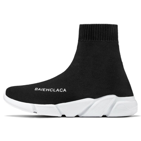 Men Running Shoes Outdoor High Top Sock Sneakers Sports Casual Big Size Fashion
