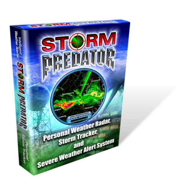 STORMPREDATOR DESKTOP DOPPLER RADAR - BEATS NOAA WEATHER RADIO ALERT