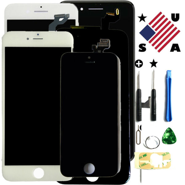For iPhone 6 6s 7 8 Plus X Xs Xr Lcd Display Complete Screen Replacement