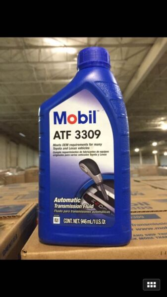 Automatic Transmission Fluid Mobil ATF 3309  12 Quarts in Case - New Stock!!