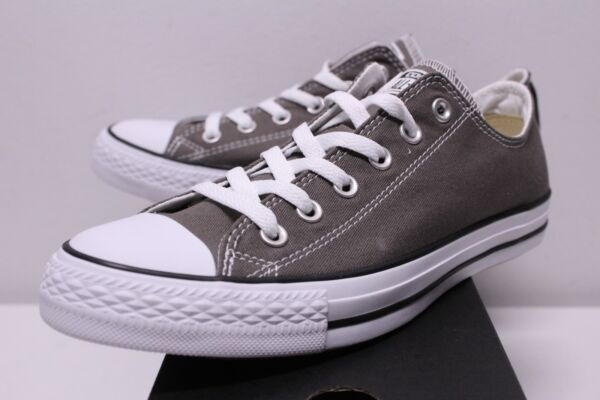 Converse Chuck Taylor All Star Ox Low Charcoal Gray Sneakers Men's Size 8-13 New