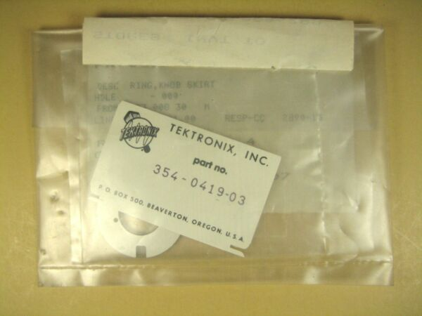 Tektronix  354-0419-03  Meter Dial Frequency Display