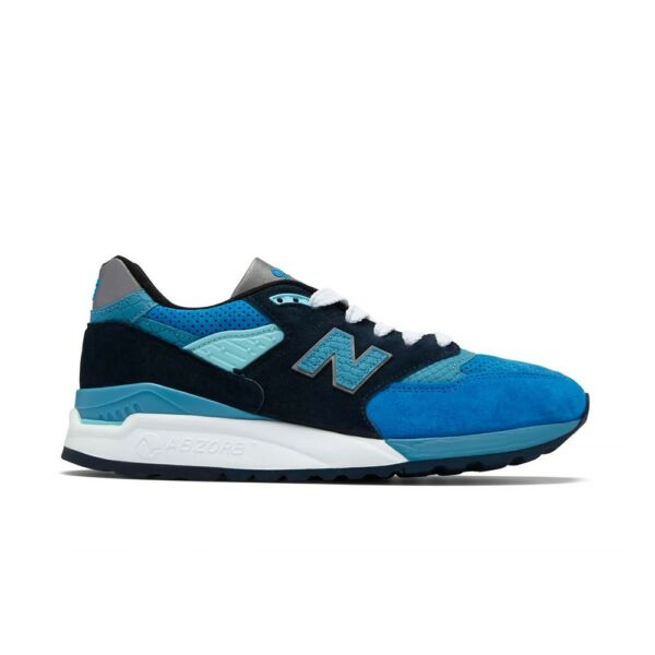 New Balance 998 Made in USA (Blue/Silver) M998NE Men's Shoes