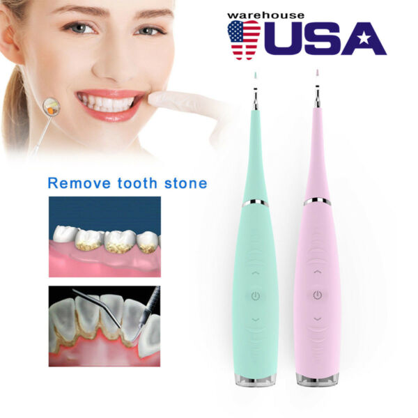 Dental Electric Super Sonic Scaler Teeth Whitening Stains Remover Calculus Clean