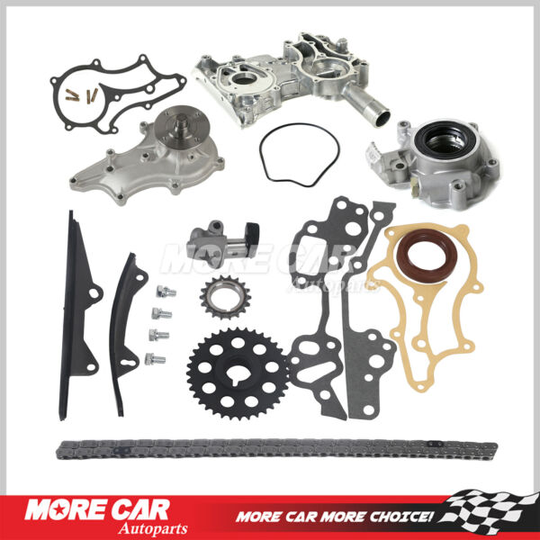 Timing Chain Kit Water Oil Pump fit 85-95 Toyota 4Runner Pickup 22R Heavy Duty