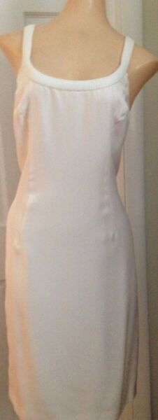 Gianni Versace  White Dress with jacket  Size 46