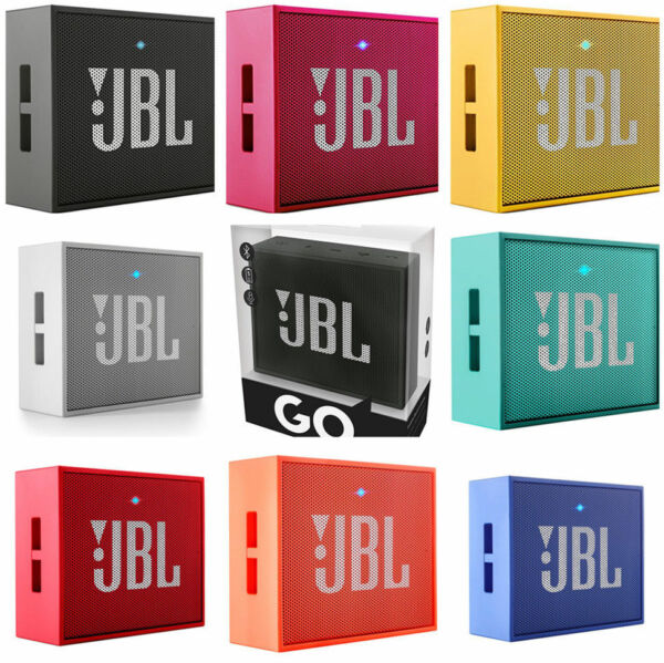 JBL GO Portable Wireless Bluetooth Speaker W/A Built-In Strap-Hook