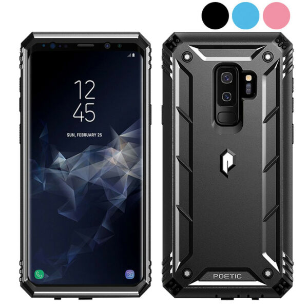 360° Protective Rugged Cover Case For Galaxy Note 10 S20 Ultra S9 Note 9 8
