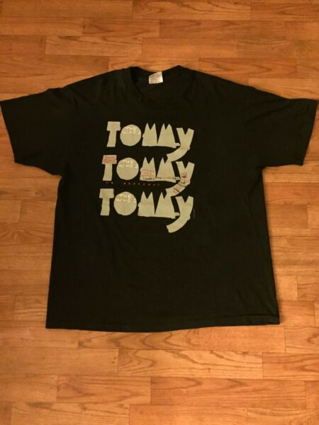 Vintage 93#x27; The Who Tommy Shirt 30 Year Anniversary Size XL $19.99
