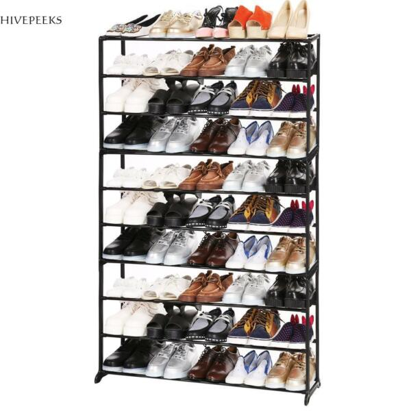 203550 Pairs Free Standing 4710 Tiers Shoe Tower Shoe Organizer Rack 5Type
