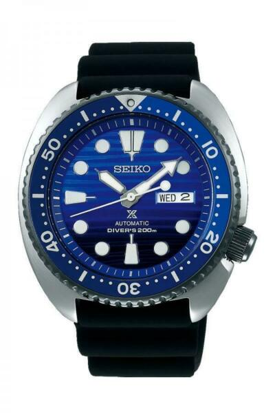 Seiko Prospex Special Edition Turtle Divers Blue Dial Automatic Watch SRPC91