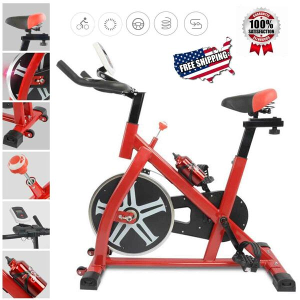 Pro Bicycle Cycling Fitness Gym Exercise Stationary Bike Cardio Workout Indoor $189.90