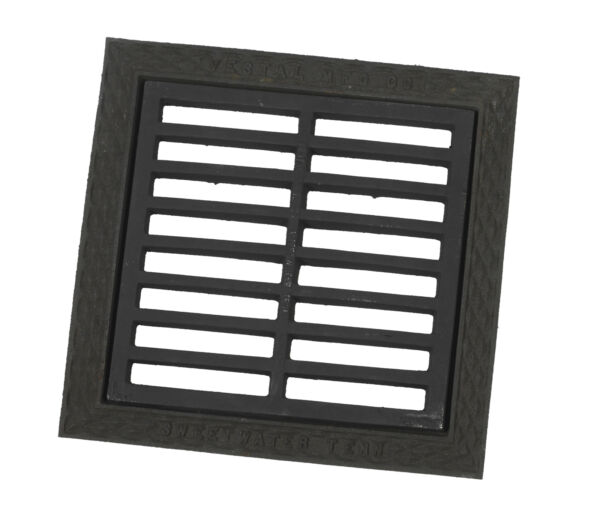 24 in X 24 in Cast Iron Grate