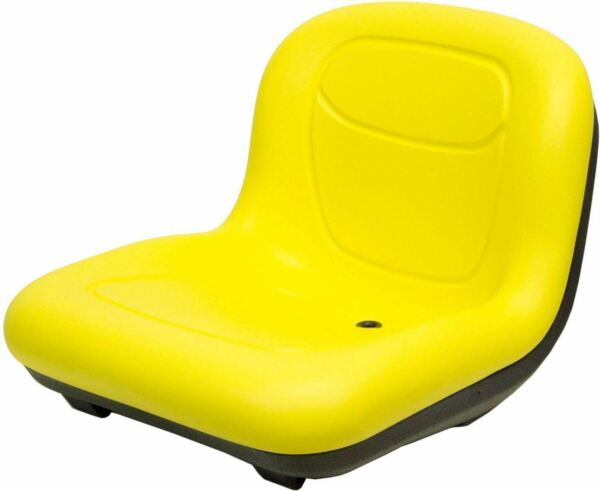 John Deere 15.50quot; High Back Seat Fits GT225 GT235 GT245 GT255 GT325 OEM#AM131157