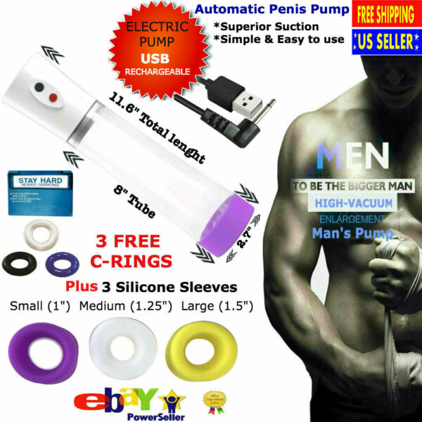 Automatic Electric Penis Enlarger-pumps Male Performance Enhancement Penis Pump