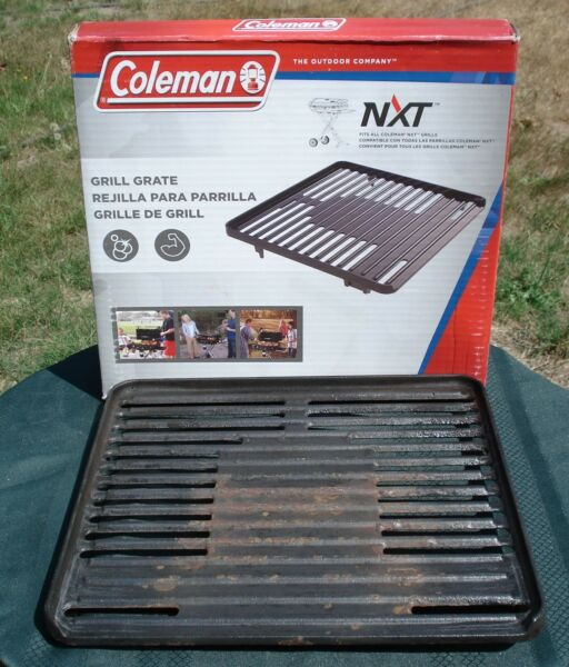 COLEMAN NXT GRILL GRATE CAST IRON PRE SEASONED ALL READY TO GRILL NXT ACCESSORY