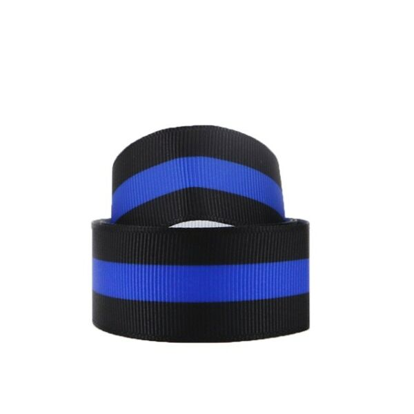 GROSGRAIN POLICE BLUE LIVES MATTER 1quot; INCH RIBBON FOR HAIR BOWS SHIPS FREE
