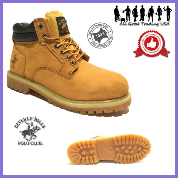 Winter Snow Work Boots Mens Work Shoes Genuine Leather Waterproof 2016