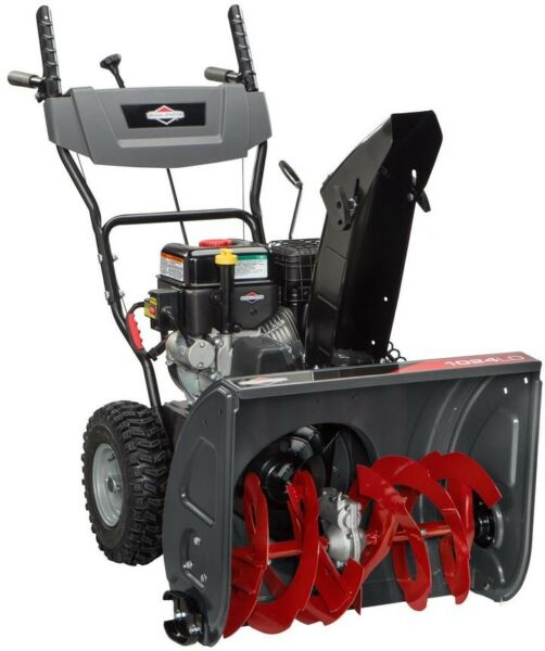 Briggs and Stratton 24 in. Dual-Stage Electric Start Gas Snowthrower