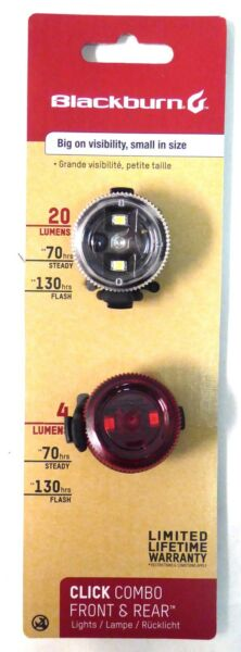 Blackburn Click Light Set Front and Rear LED $20.95