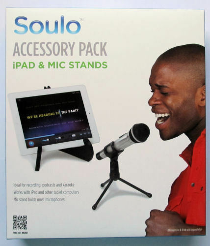 NEW Soulo ACCESSORY PACK Desktop Tablet & Microphone Stands  Karaoke *Free ship