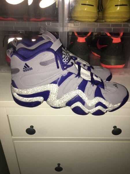 RARE~Adidas PERFORMANCE CRAZY 8 TRIBAL PRINT 1 Basketball light Shoe~Men size 13