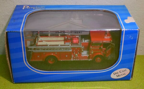 AMERICAN MINT DIE CAST FIRE ENGINE NORTH TARRYTOWN NY